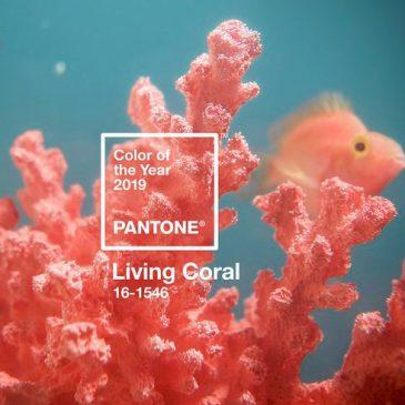 رنگ مد سال ۲۰۱۹ -رنگ مرجانی زنده (living coral)